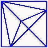 تست هوش: مثلث ها را بشمارید!