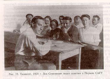 ویگوتسکی در حال تدریس- 1929
