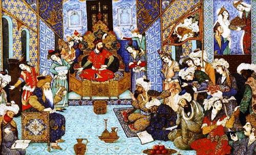 سلطان محمود غزنوی و درباریان!
