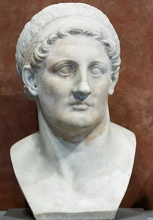 مجسمه بطلمیوس اول