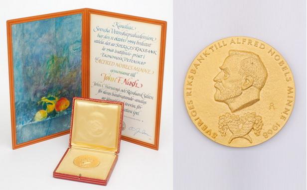 مدال نوبل جان نش