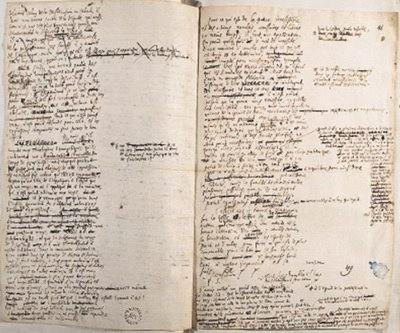 دستنوشته هایی از لایبنیتس