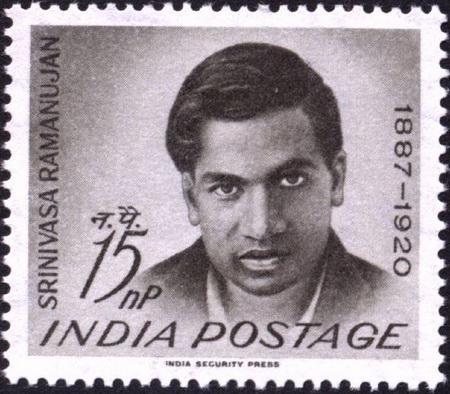 تمبر یادبود رامانوجان -- هندوستان