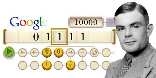 لوگوی گوگل در 23 جون 2012