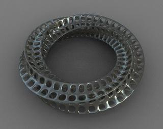 شکلی با ساختار نوار موبیوس