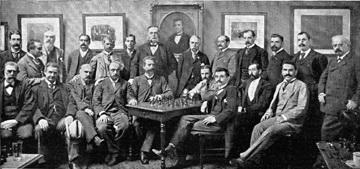 لاسکر در تورنومنت 1893 - نیویورک