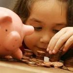 معما: دختربچه و سکه های قلک!