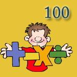 معمای ریاضی: 1، چهار تا 7 و عدد 100!