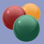 معمای ریاضی: شش توپ رنگی