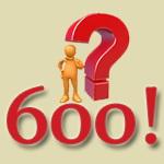 مسئله ریاضی: !600