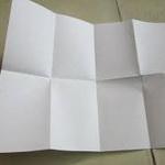 معمای المپیادی: کاغذ تا شده