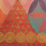 معمای المپیادی: شانزده مثلث کوچک