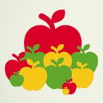 تست هوش تصویری: سیب ها در اندازه های متفاوت