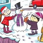 تست هوش تصویری: آخرین روزهای برفی سال!