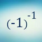 سوال ریاضی: منفی به توان منفی!