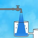 تست هوش: شیر آب و ظرف های متصل به هم